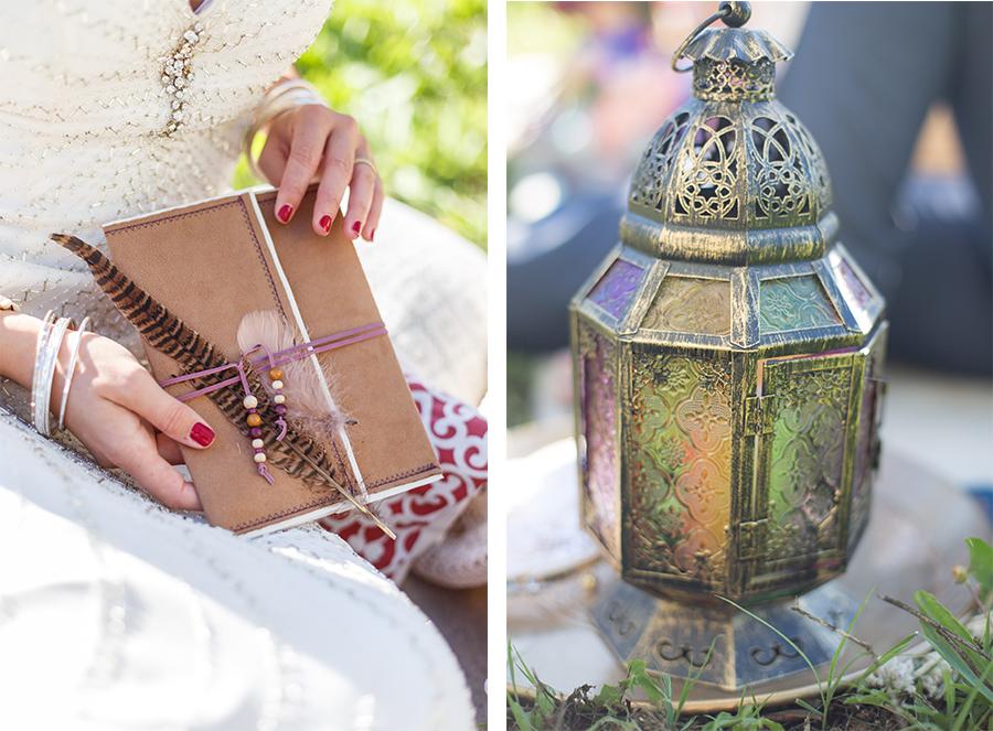 Hochzeits-Picknick in der Toskana Hippy