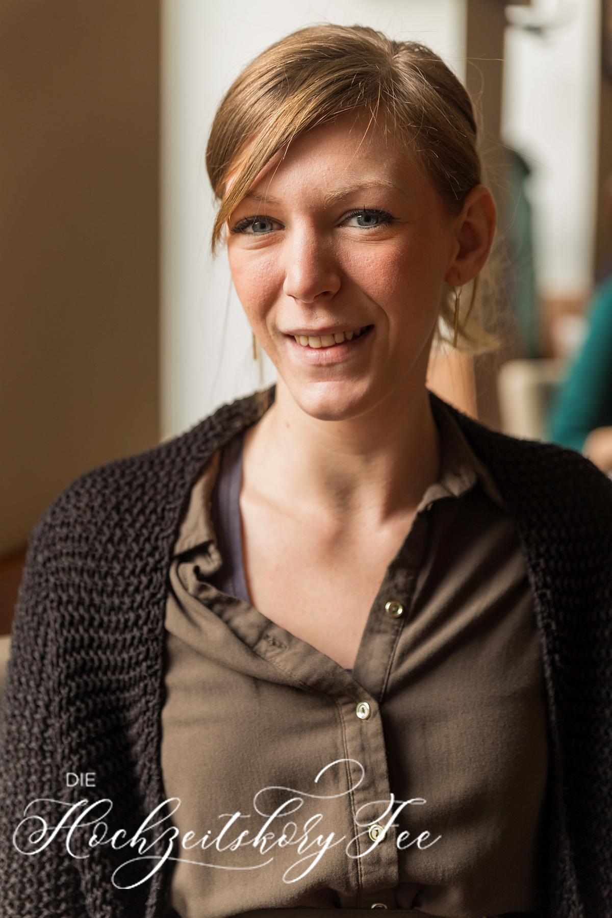 Die Hochzeitskoryfee Sabine Bernt